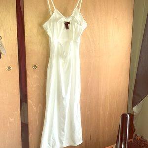 White Spring/Summer Dress